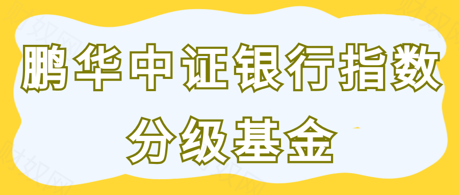 鹏华中证银行指数分级基金如何?几个方面分析了解!