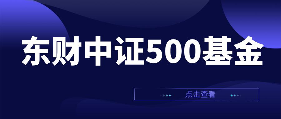 东财中证500基金如何?全方面了解